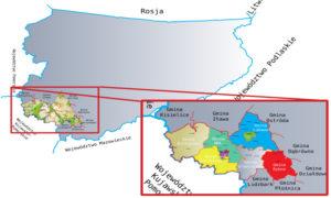 mapa obszaru lgd zl