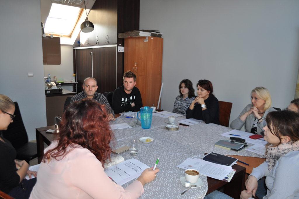 """Spotkanie informacyjne dotyczące Projektu """"Równać Szanse"""""""