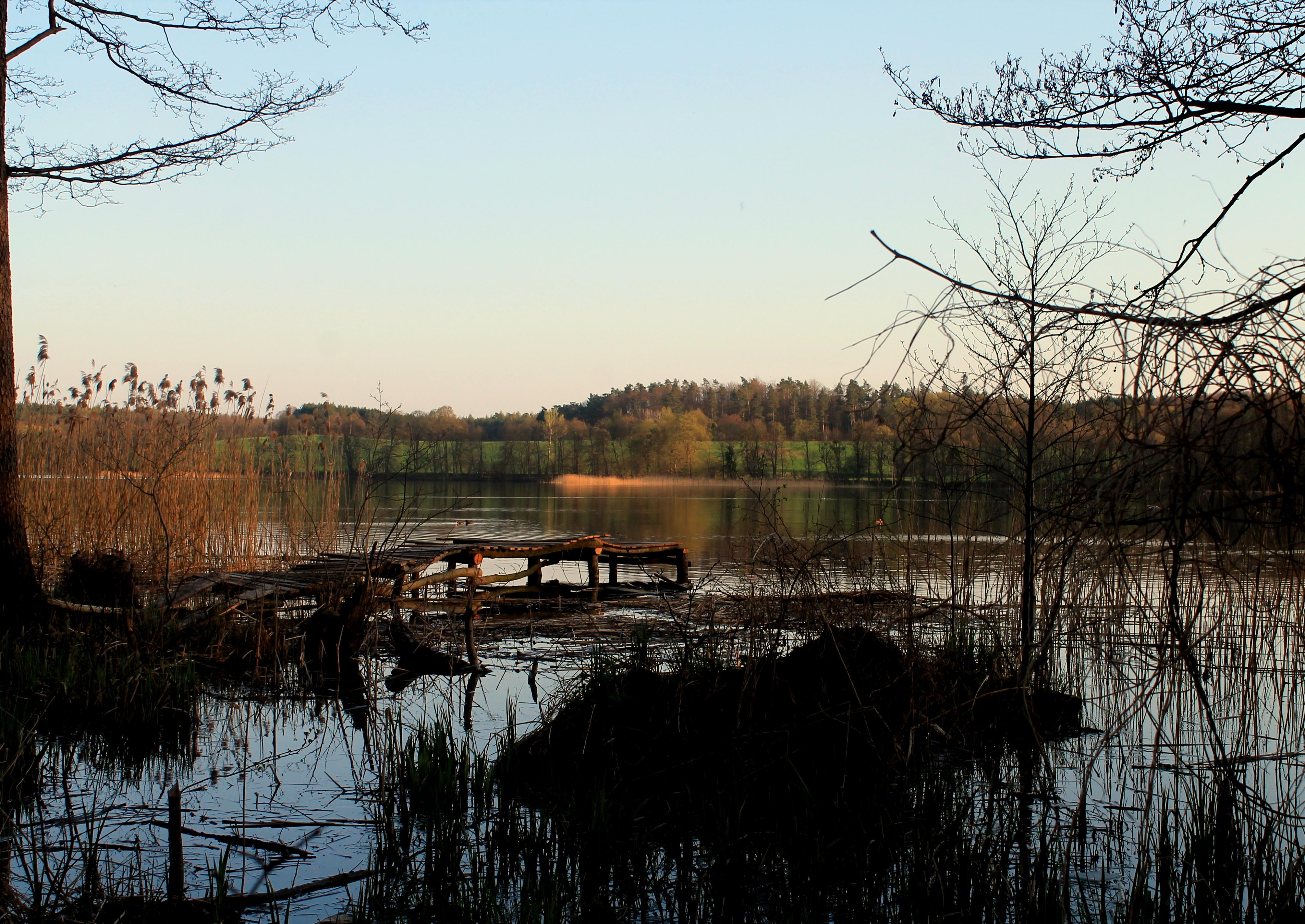 Jezioro Łąkorz Magdalena Milewska