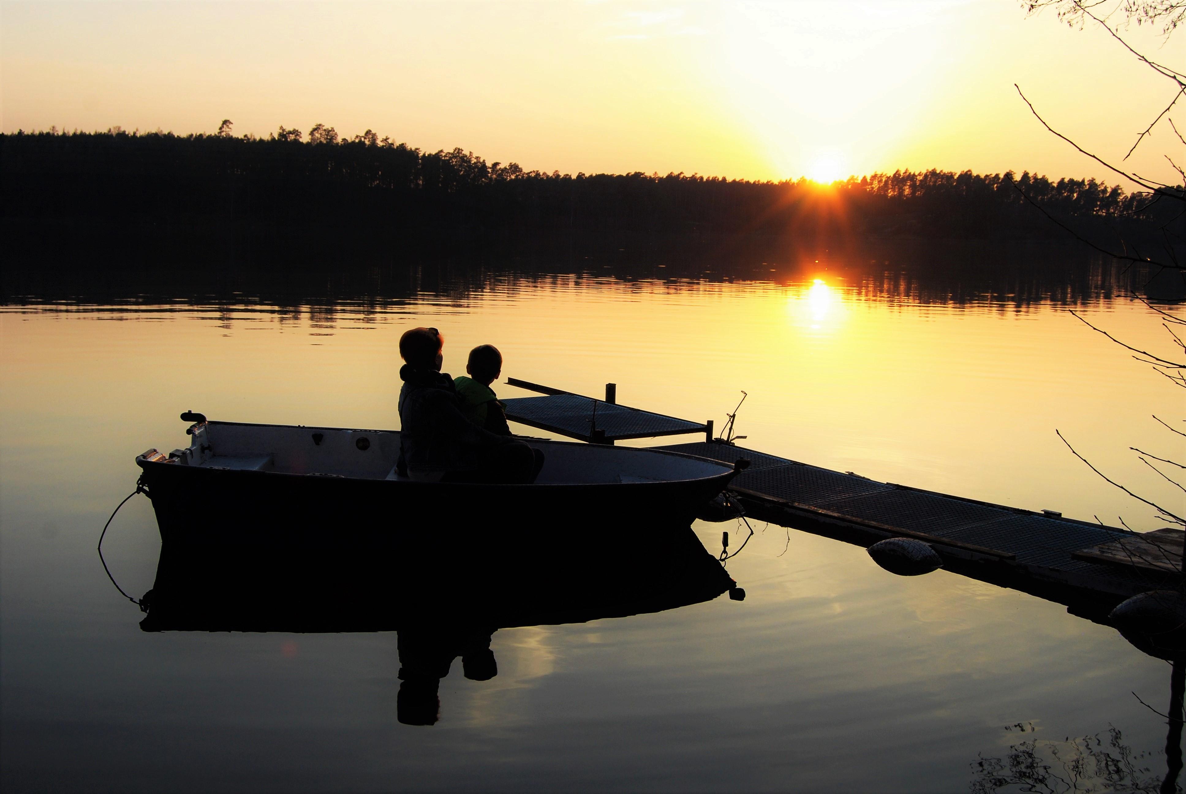 Jezioro Partęczyny Maciej Lange