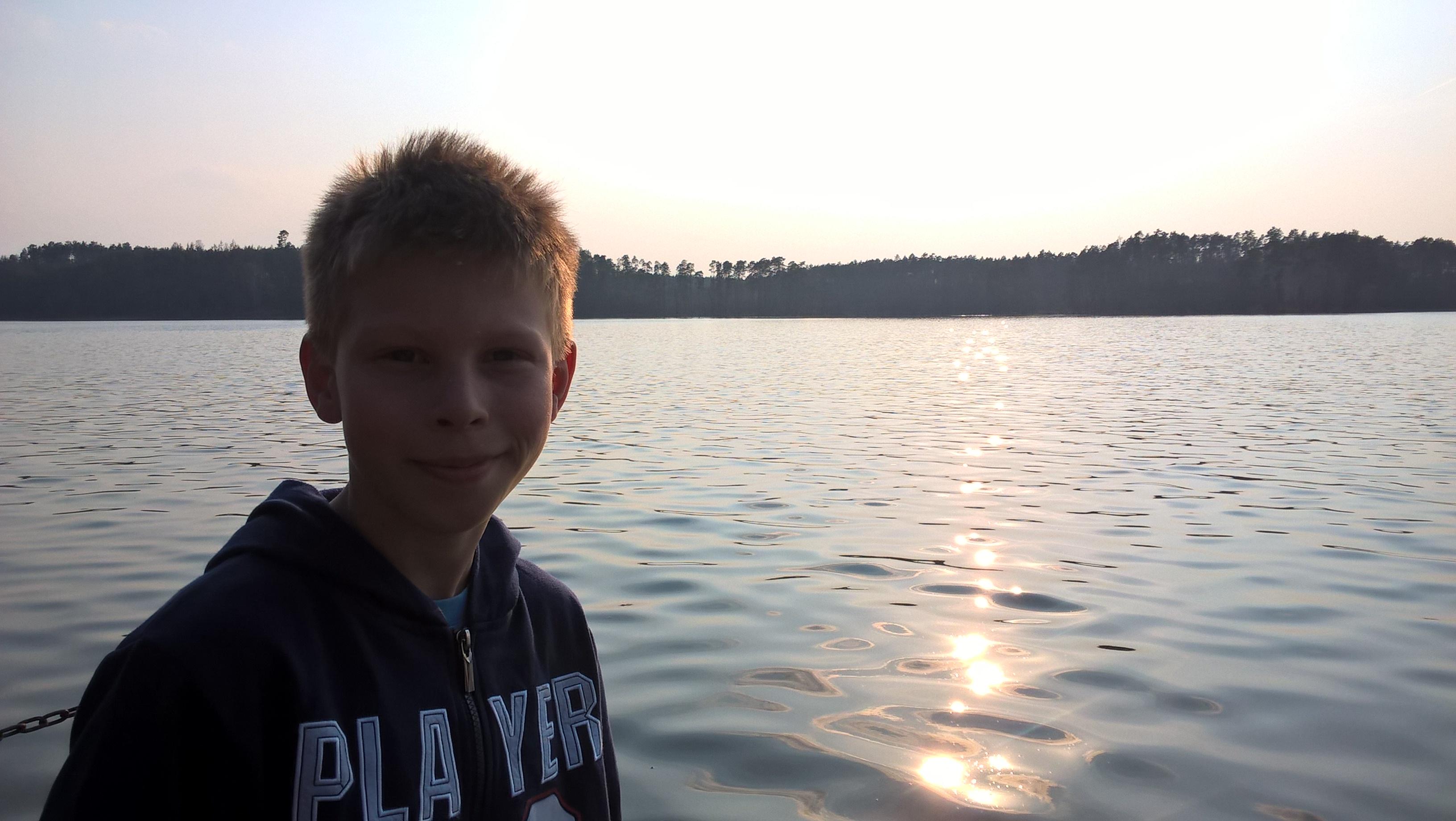 Jezioro Partęczyny Szymon Laskowski