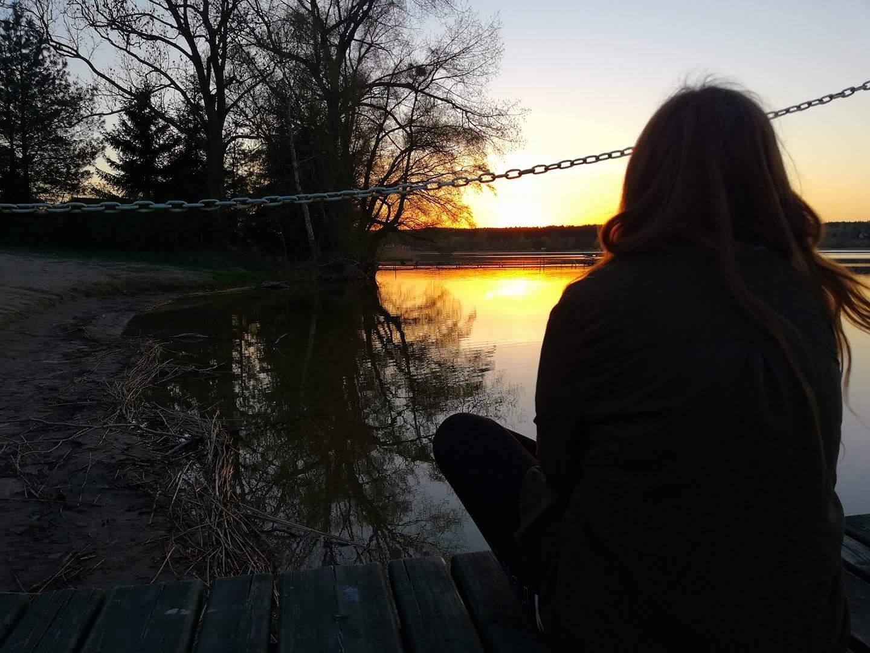 Jezioro Skarlińskie Julia Skocka