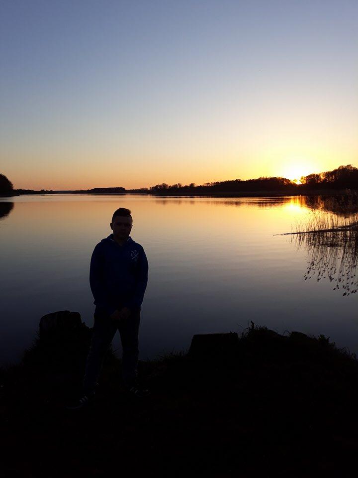 Jezioro Skarlińskie Oskar Maron
